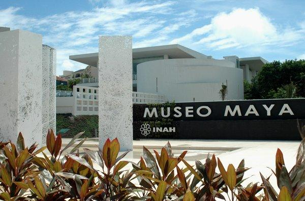 The new Maya Museum in Cancun, Mexico, is expected to draw a million visitors annually.