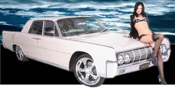 A 1964 Lincoln Continental is among the vintage autos that comedian Amazing Johnathan will be selling Saturday in Las Vegas.