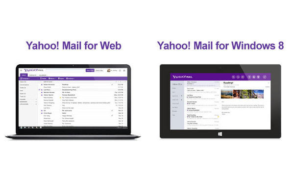 Yahoo announced improvements to its Web-based Yahoo Mail service as well as to the email service's mobile apps.