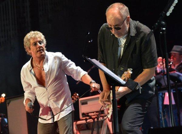 "The Who are performing at the ""12-12-12"" Hurricane Sandy relief concert."