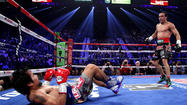 Pacquiao knocked out in the 6th