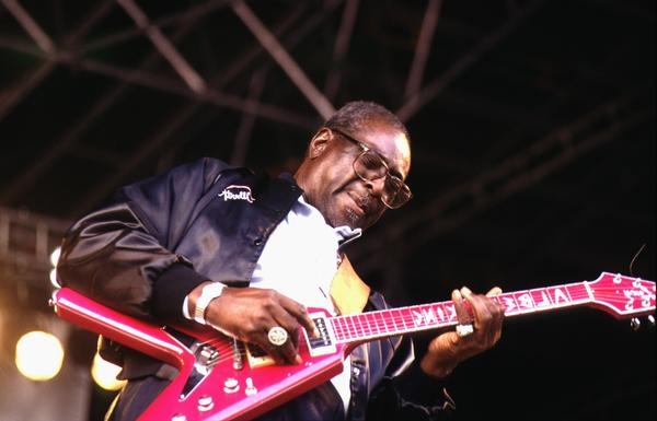 "During the 1960s, blues guitarist Albert King hit the blues charts with songs such as ""Laundromat Blues"" and ""Don't Throw Your Love on Me So Strong."" <br><a href=""http://articles.latimes.com/1992-12-23/news/mn-2152_1_albert-king""><b>More:</b> Albert King, influential Blues Guitarist dies</a>"