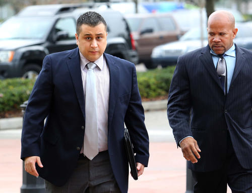 George Zimmerman hearing at the Seminole courthouse in Sanford, Fla., Dec. 11, 2012.
