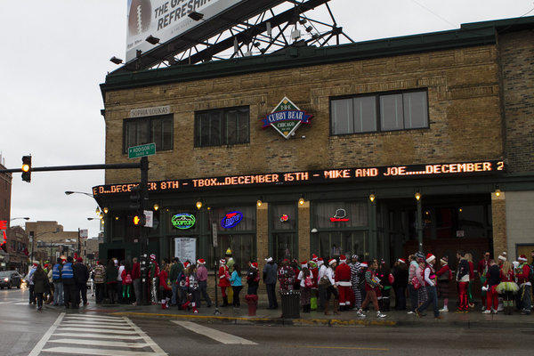 Annual TBOX bar crawl in Wrigleyville