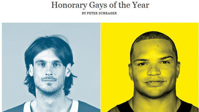 GQ names Brendon Ayanbadejo 'honorary gay'