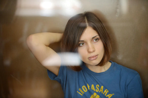 AskMen's 99 most desirable women: No. 85: Nadezhda Tolokonnikova (from Pussy Riot)