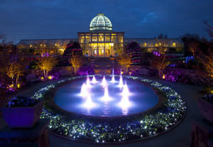 Lewis Ginter Botanical Garden glows with thousands of holiday lights now through Jan. 7.