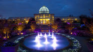 "Eastern plants and culture are highlighted at the Lewis Ginter Botanical Garden's holiday light show ""Dominion GardenFest of Lights"" now through Jan. 7."