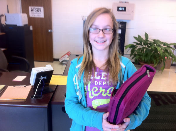 Born on Dec. 12, 2000, Hagerstown resident Kayla Bailey turns 12 today, on 12/12/12.