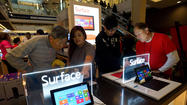 Though Microsoft's Surface has been on sale for several weeks, it's been hard to get a clear read on how this critical product is doing. For now, Microsoft isn't providing any numbers, so everyone is looking elsewhere and reading tea leaves.