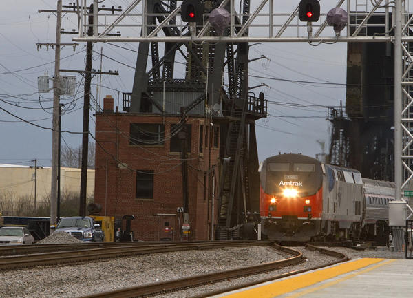 The first Amtrak train arrives in Norfolk on Tuesday afternoon, bringing Governor Bob McDonnell, members of Amtrak's board of directors and other local dignitaries. Amtrak's public service from Norfolk begins Wednesday morning.