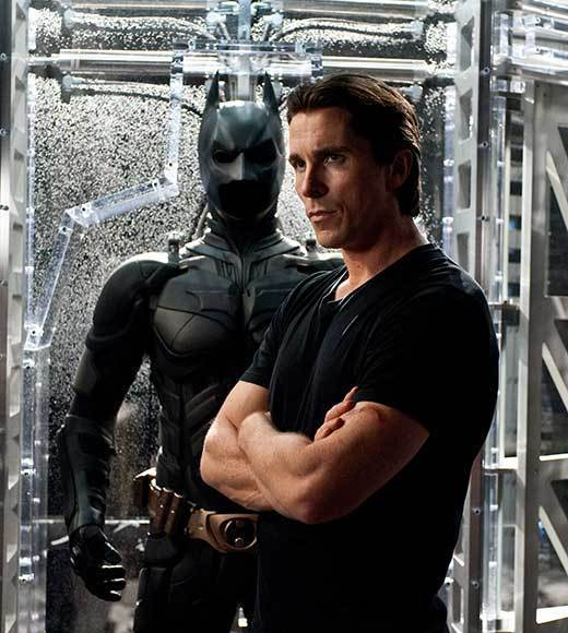 "Christian Bale - ""The Dark Knight Rises"" (pictured)<br> Daniel Craig - ""Skyfall""<br> Robert Downey Jr. - ""The Avengers""<br> Joseph Gordon-Levitt - ""Looper""<br> Jake Gyllenhaal - ""End of Watch"""