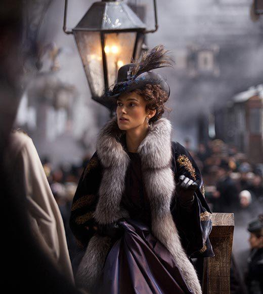 2013 Critics' Choice Movie Awards nominees: Anna Karenina - Jacqueline Durran (pictured) Cloud Atlas - Kym Barrett and Pierre-Yves Gayraud The Hobbit - Bob Buck, Ann Maskrey and Richard Taylor Les Mis�rables - Paco Delgado Lincoln - Joanna Johnston