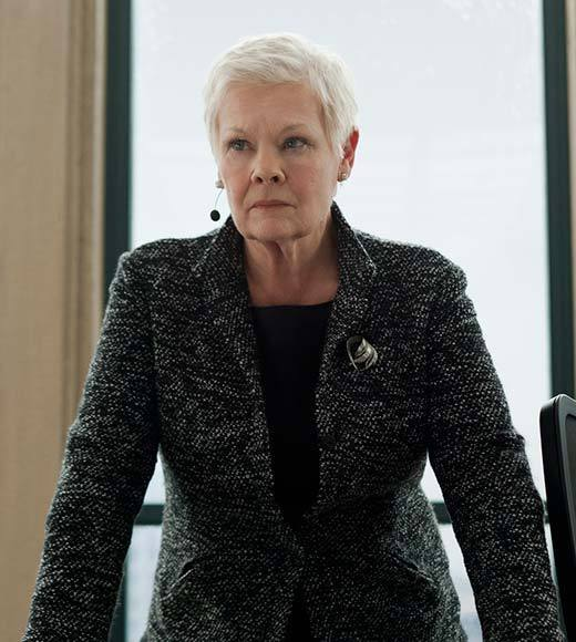 "Amy Adams - ""The Master""<br> Judi Dench - ""Skyfall"" (pictured)<br> Ann Dowd - ""Compliance""<br> Sally Field - ""Lincoln""<br> Anne Hathaway - ""Les Misérables""<br> Helen Hunt - ""The Sessions"""
