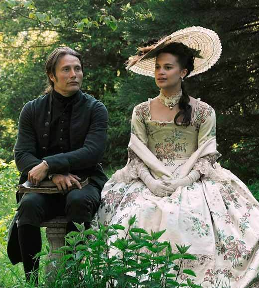 2013 Critics' Choice Movie Awards nominees: Amour The Intouchables A Royal Affair (pictured) Rust and Bone
