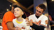 In his seven years in an Orioles uniform, right fielder Nick Markakis couldn't talk about the upcoming season as optimistically as he did on Tuesday.
