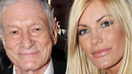 Crystal Harris shows off engagement ring No. 2 from Hugh Hefner