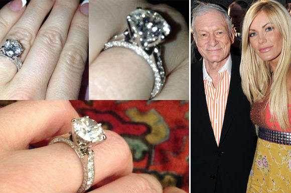 Crystal Harris' new engagement ring 2012