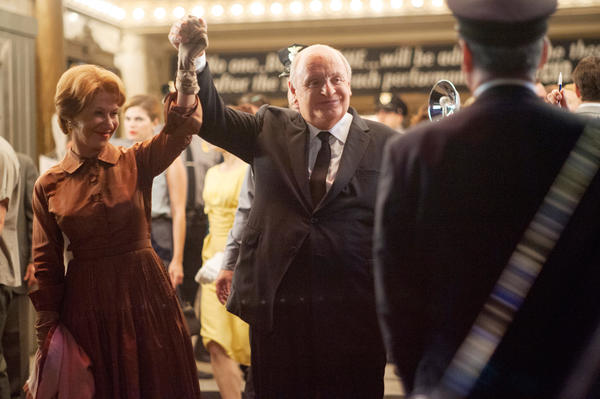 "Helen Mirren as ""Alma Reville"" and Anthony Hopkins as ""Alfred Hitchcock"" in ""Hitchcock"""