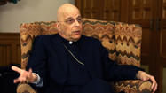 Medical tests have shown that Chicago's Cardinal Francis George appears to be free of cancer, he said in a wide-ranging interview, though doctors have advised the Roman Catholic archbishop to skip two Christmas Day traditions dear to him.