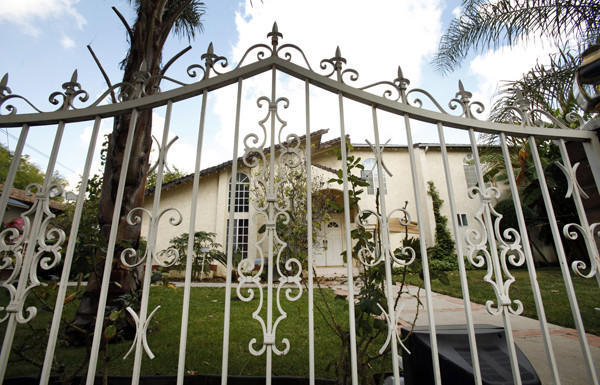 After a shooting earlier this month at this Northridge home, L.A. County supervisors called Tuesday for new legislation.