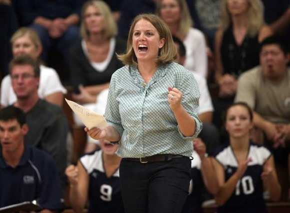 Marissa Booker guided Corona del Mar High to a 60-12 record and one CIF title appearance in two years of coaching the girls' volleyball team.