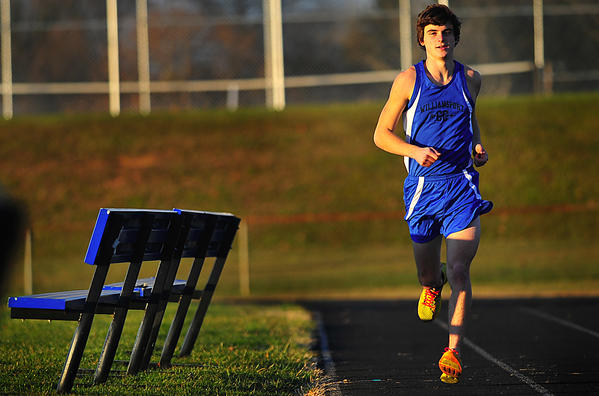 Williamsport senior Cody Bowman is The Herald-Mail's 2012 Washington County Boys Cross Country Runner of the Year.