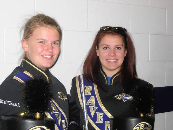 Dulaney teens in Marching Ravens