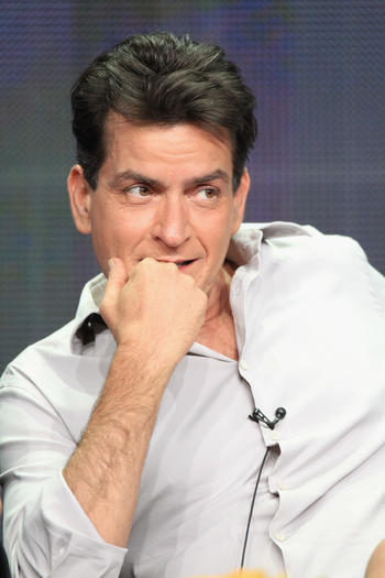 Actor Charlie Sheen