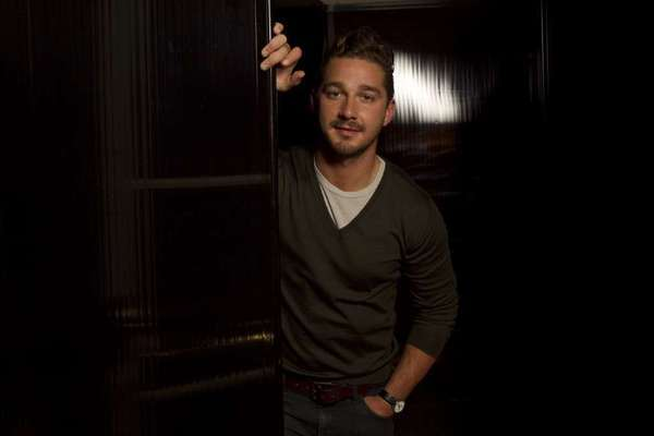 "Shia LaBeouf, shown here at the Four Seasons Hotel in Beverly Hills in 2011, will make his Broadway debut in April in the play ""Orphans,"" co-starring Alec Baldwin."