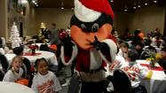 VIDEO Orioles host holiday party