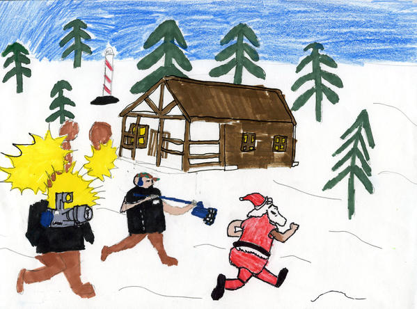 2012 Holiday Art Contest