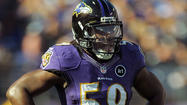 Ravens LB Dannell Ellerbe says his ankle injury is 'getting better'