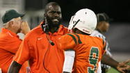 Kenard Lang resigned as Jones High's head football coach Tuesday to take over the vacant Wekiva High head-coaching position.