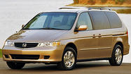 Honda recalls more than 800,000 vans and SUVs for faulty ignition