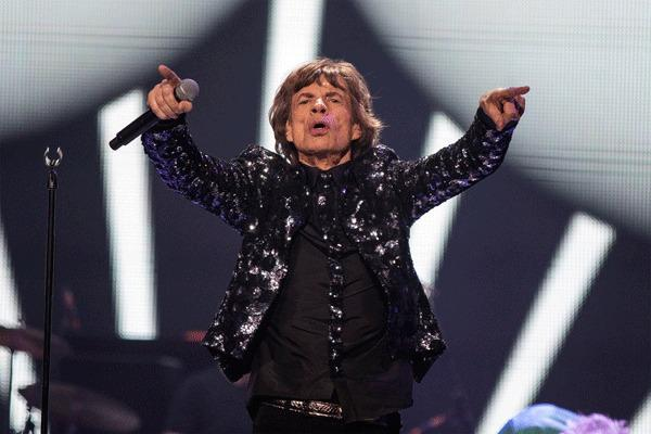 Singer Mick Jagger performs with The Rolling Stones at the Barclays Center in New York, December 8, 2012.
