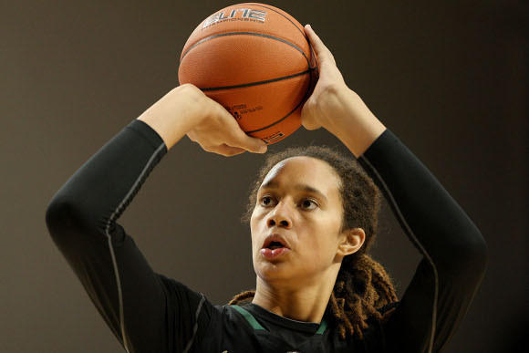 Among Brittney Griner's skills: 75 percent foul shooting.