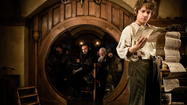 """The Hobbit,"" the first of three movies to be yanked out of J.R.R. Tolkien's single novel, comes from <span class=""italic"" style=""text-align: justify; font-style: italic; font-weight: normal;"">Mister</span> Middle-earth: Peter Jackson, who thrilled Tolkien fans worldwide with his lavish screen version of the ""Lord of the Rings"" trilogy."