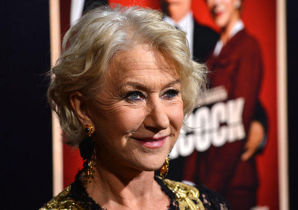 "Helen Mirren, starring in ""Hitchcock,"" will be honored at the Palm Springs International Film Festival."