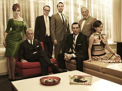 2013 Screen Actors Guild Awards nominees: Boardwalk Empire Breaking Bad Downton Abbey Homeland Mad Men (pictured)
