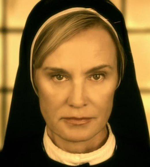 "Claire Danes - ""Homeland""<br> Michelle Dockery - ""Downton Abbey""<br> Jessica Lange - ""American Horror Story: Asylum"" (pictured)<br> Julianna Margulies - ""The Good Wife""<br> Maggie Smith - ""Downton Abbey"""
