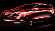 Detroit Auto Show: Acura to unveil 2014 MDX prototype