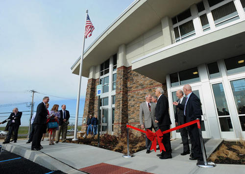 Hanover Township Council members along with guests held a dedication ceremony for their new Hanover Township, Lehigh County Administration and Public Works Municipal Facility Wednesday morning.
