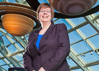Michelle Larson has been appointed president of the Adler Planetarium. She will oversee a 21st century space science center that includes the institution's landmark museum complex, exhibition galleries and three theaters; a robust research enterprise; one of the world's leading collections documenting the history of science; and an award-winning education and outreach program.   Larson currently serves as vice provost and professor of physics at Utah State University. She is engaged in activities that strengthen the interaction between the university and the public, such as the creation of a Science, Technology, Engineering, Education, and Math (STE2M) Center, and a popular science outreach program, Science Unwrapped that explains the day-to-day, inner workings of modern research and engages the public in meaningful, hands-on activities.  Prior to joining Utah State University in 2006, Larson was the deputy director of the Center for Gravitational Wave Physics at Pennsylvania State University. She also served as the deputy director of NASA's Montana Space Grant Consortium where she coordinated research and education activities with the faculty and students at 24 affiliate campuses and partners.    Larson received her undergraduate and graduate degrees in physics from Montana State University.  Her postdoctoral work in high-energy astrophysics was completed at the California Institute of Technology.  Larson succeeds Paul H. Knappenberger, Jr., who will retire on December 31 after 21 years of service.