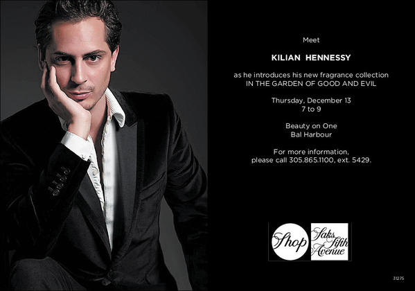 By Kilian Parfums personal appearance