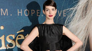 Anne Hathaway strikes a blow for an underwear-free America