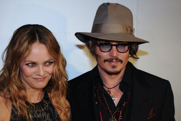 Year in Review: Entertainment news of 2012: After 14 years together, Johnny Depp and Vanessa Paradis announced that they had split up.