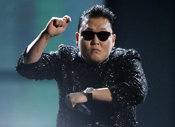 Year in Review: Entertainment news of 2012: South Korean rapper PSY became a global sensation after his video for Gangnam Style garnered over 800 million views on YouTube and inspired countless parodies.