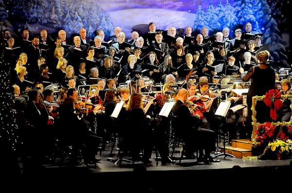 Hagerstown Choral Arts and the Maryland Symphony Orchestra present their annual Home for the Holidays concert.