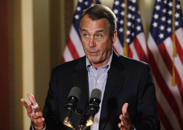 House Speaker John Boehner has been meeting with President Obama on fiscal cliff negotiations, but there has been little headway in their talks.